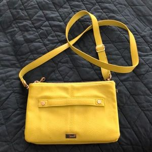 Lime green crossbody/clutch pocketbook by Jewell